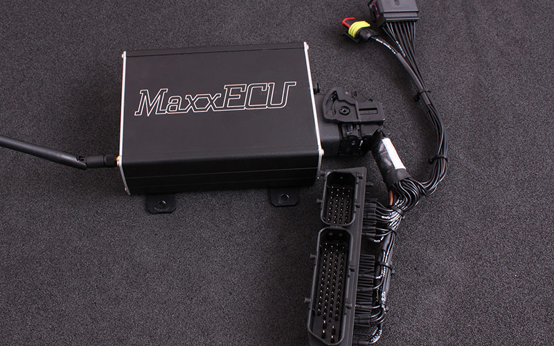 MaxxECU V1 plugin ECU solution for Audi A4
